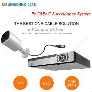 China Plug and Play PoC&EoC Video Surveillance System on sale
