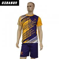 Wholesale Custom Sublimated Anti-Shrink 100%Polyester Football Jersey for Adults & Kids from china suppliers