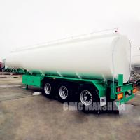 China Crude palm oil tanker trailers for sale on sale