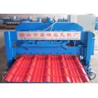 Automatic Corrugated Steel Sheet Metal Roof Wall Panel Glazed Tiles Roll Forming Machine