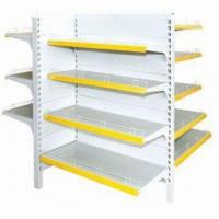 Quality Gondola shelf,Supermarket Shelf with Hook Fittings for Logo Display, Available for sale