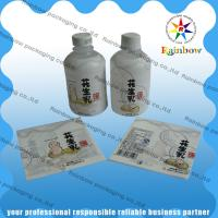PVC / PET Shrink Sleeve Labels Customized Printing For Drink Bottle for sale