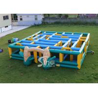 Wholesale 12x12m kids N adults giant inflatable corn maze digitally printed for sports events from china suppliers