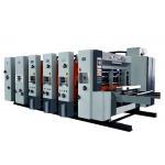 China Lead Edge Feeder Corrugated Box Flexo Printer Slotter Die Cutter Machine for sale