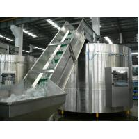 Wholesale Cans Jars Tins Beverage Bottling Equipment , Bottle Unscrambler Machine from china suppliers