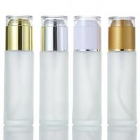 China Dispensing Glass Spray Bottle Pump Containers Easy To Use Lightweight for sale