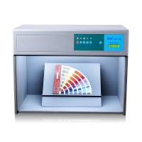 Wholesale Small Size Light Box Color Assessment Cabinet D65 TL84 F UV Four Light Sources from china suppliers