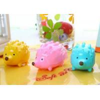 China Creative School Stationery  Sweet Color Cartoon Hedgehog Pencil Sharpener Double Holes for sale