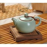 Wholesale Green glazed Chinese Ru Porcelain Tea Sets , 150ml Celadon Ru Kiln Teapot from china suppliers