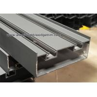 Buy cheap Extruded Aluminum Sliding Door Frame Profile With Powder Coating Grey from wholesalers