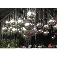 Wholesale 1m 2m 3m Floating Reflective Mirror Balloon Inflatable Mirror Ball For Party Decoration from china suppliers
