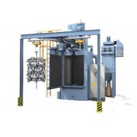 Best Hook Type Shot Blasting Machine , Surface Sand Rust Removing High Precision Grinding Machine wholesale