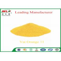 Wholesale Synthetic Fabric Dye Powder C I Vat orange 11 vat yellow 3RT 100% Purity from china suppliers