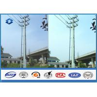 Best Sub Electric overhead Transmission Electrical Power Pole in Dodecagonal Double Circuits 110KV wholesale
