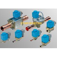 HVAC Danfoss Solenoid Valve refrigeration system controls EVR Series for liquid / suction / hot gas line for sale