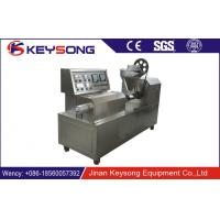 Wholesale Full Automatic Soya Meat Making Machine Single Screw Extruder Output 100kg / H from china suppliers