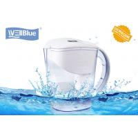 Anti-Oxidant Wellblue Alkaline Water Ionizer Pitcher White / Blue / Green Color for sale
