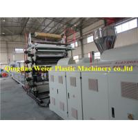 Best Wood Veneer Sheet / Pvc Marble Plastic Board Production Line 1-5m/Min wholesale