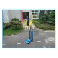 Wholesale Warehouse Order Picker 2.8m Mast Type , Hydraulic Aluminum Stock Picker Lift from china suppliers