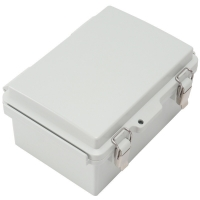 Wholesale IP65 Hinged Plastic Enclosures Weatherproof With SS Latch from china suppliers