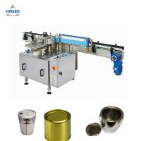 Wholesale High Accuracy Automatic Wet Glue Labelling Machine For Tin Cans Stable Performance from china suppliers