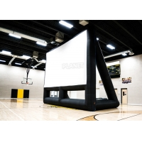 Wholesale Commercial 210D Inflatable Projector Movie Screen With Blower from china suppliers