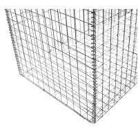 Wholesale Construction Gabion Wire Mesh Rock Basket Retaining Wall 4.0mm-5.0mm Wire Gauge from china suppliers