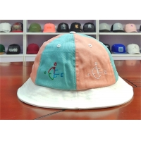Wholesale ACE Women Men Girls Boys Custom Embroidery Logo Stagger Color Bucket Fishing Fisherman Cap Hat from china suppliers