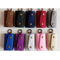 Wholesale Accept OEM 43 Colors Felt Key Wallet Business Gifts Key Holder With 6 Hooks from china suppliers