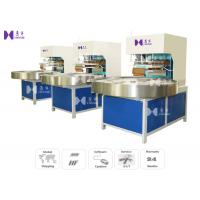 LED Light 27.12MHZ Blister Packaging Machine Automatic Turntable 4 Work Stations