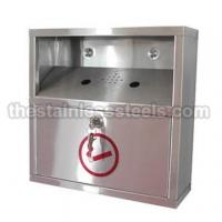 Wholesale ML10902-1 Stainless Steel Cigarette Bins from china suppliers