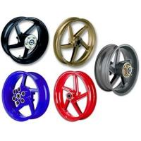 Wholesale 5-spoke forged magnesium/aluminium alloy wheels from china suppliers