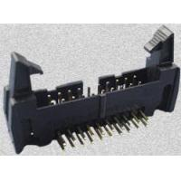 Wholesale 35 SERIES-8.25mm 2.54mm Box Header With Latches DIP Type(Right angle) from china suppliers