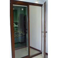 Wholesale Jixin German style aluminum clad wood window, 90 series inward open doors from china suppliers