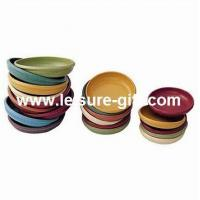 Wholesale Flower planter biodegradable pot saucer FO-18 from china suppliers