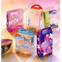 China Printing Products pp,pvc,pet box for sale