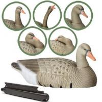 China Goose Decoys Hard Core Floating White Front Goose Finish 6 Pack on sale