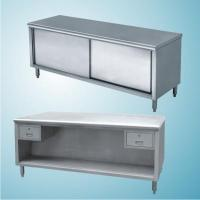GAS RANGE WITH SHELF PRE PARATION CABINET PRE PARATION CABINET for sale