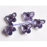 Crystal Jewelry Accessories H7052-lilac silver coating