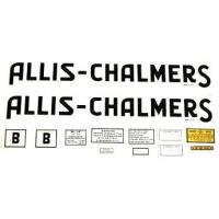 Buy cheap Allis Chalmers B Decal (1939-40) Black w/ Long A & S from wholesalers