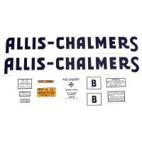 Buy cheap Allis Chalmers B Decal (1941-57)Black w/ Even letters from wholesalers