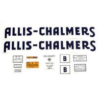 Buy cheap Allis Chalmers B Decal (up to & including 1939) Blue w/ Long A & S from wholesalers
