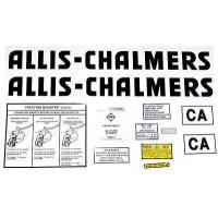 Buy cheap Allis Chalmers CA Decal (black) from wholesalers