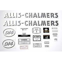 Buy cheap Allis Chalmers D14 gas (Oval model letter) Decal from wholesalers
