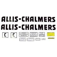 Buy cheap Allis Chalmers C Decal (Black w/ Even letters) from wholesalers