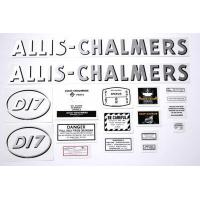 Buy cheap Allis Chalmers D17 gas (Oval model letter) Decal from wholesalers