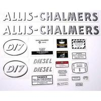 Buy cheap Allis Chalmers D17 diesel (Oval model latter) Decal from wholesalers