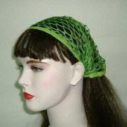 China Bandanas RW 5069 Net Type Hair Bandana Available in Assorted Colors on sale