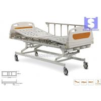 Buy cheap Three Function Manual Cranked Hospital Beds(SMH-328P) from wholesalers