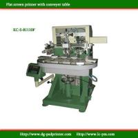 Best Flat screen printer with conveyer wholesale